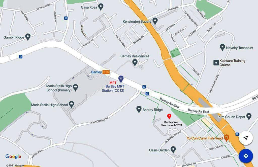 Bartley Condo Sales New Launch near Bartley Residences